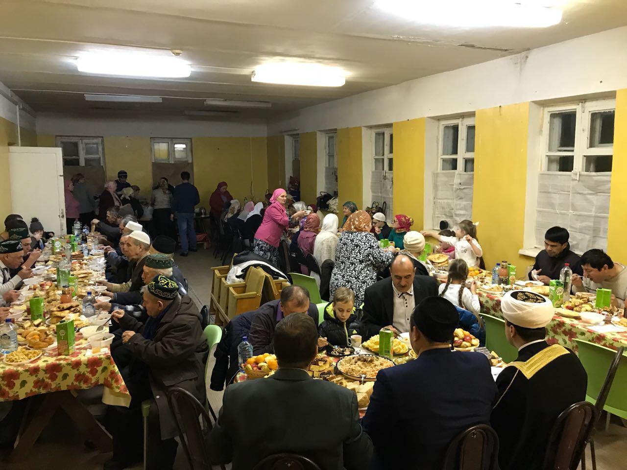 В Зарайске состоялось Собрание татарской мусульманской общины округа