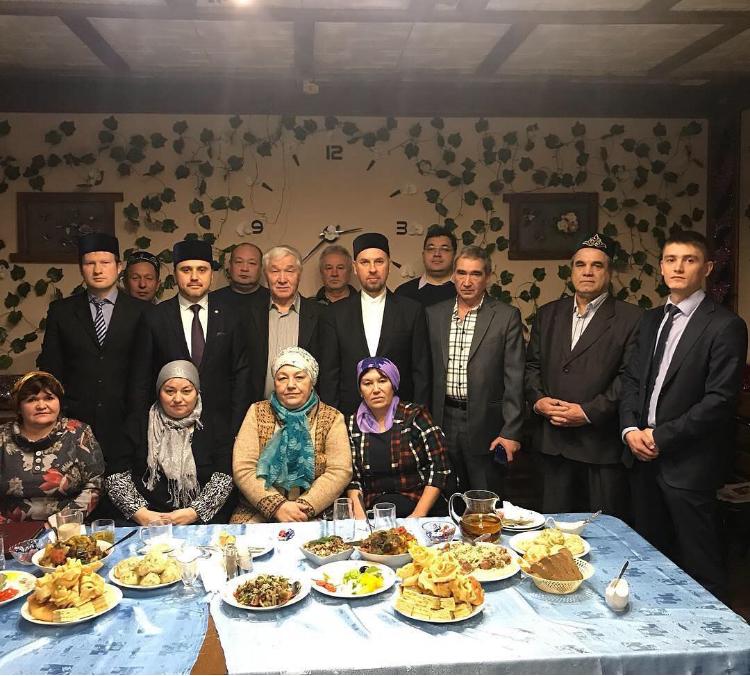 В Можайске состоялась встреча татар с муфтием Московской области
